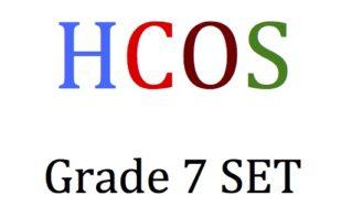 HCOSgrade7